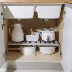 Layered Storage Rack | Adjustable | Multi-Purpose