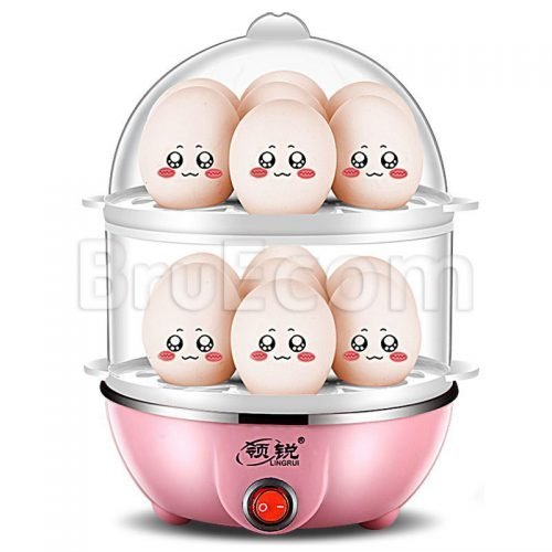 Layered Egg Cooker | Electric | Automatic | Multi-functional