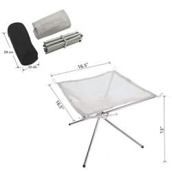Camping Fire Net | Outdoor | Foldable | Stainless Steel