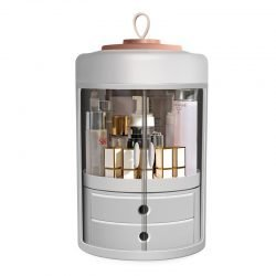 Rotatable Cosmetics Storage Rack | Drawer Style | Stylish | Multi-Purpose