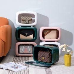 Handbag Purse Storage Box | Container | Dust Proof | Transparent