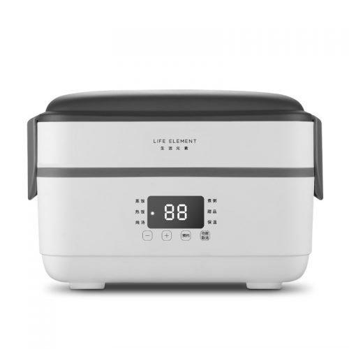 生活元素电热饭盒F36加热保温可插电迷你学生上班族双层蒸饭带饭